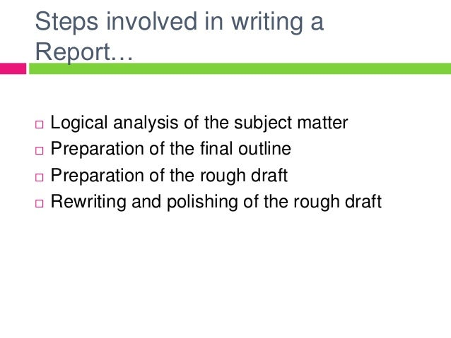 report writing business research methods The business research report writing course teaches the skills required to write clear, explicit research business reports that have a format prescribed by the.