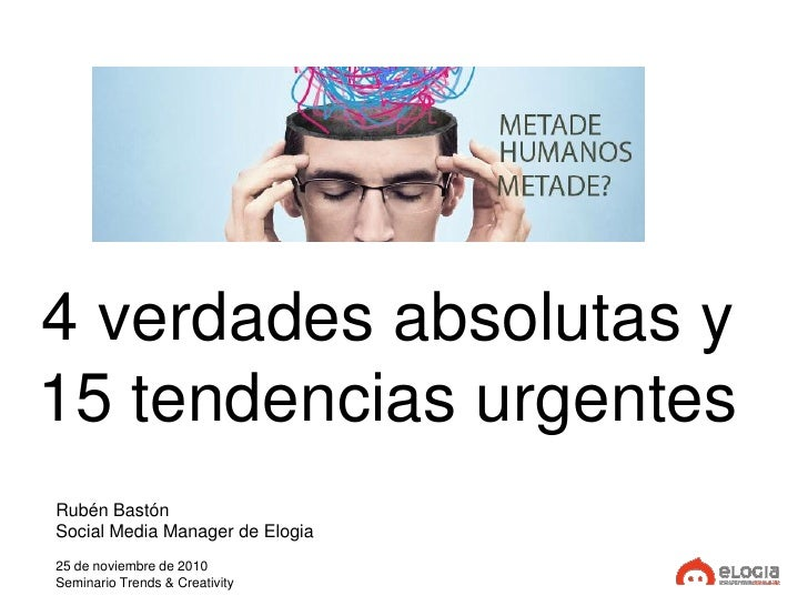 Trends 3. Novas tecnoloxías - Rubén Bastón