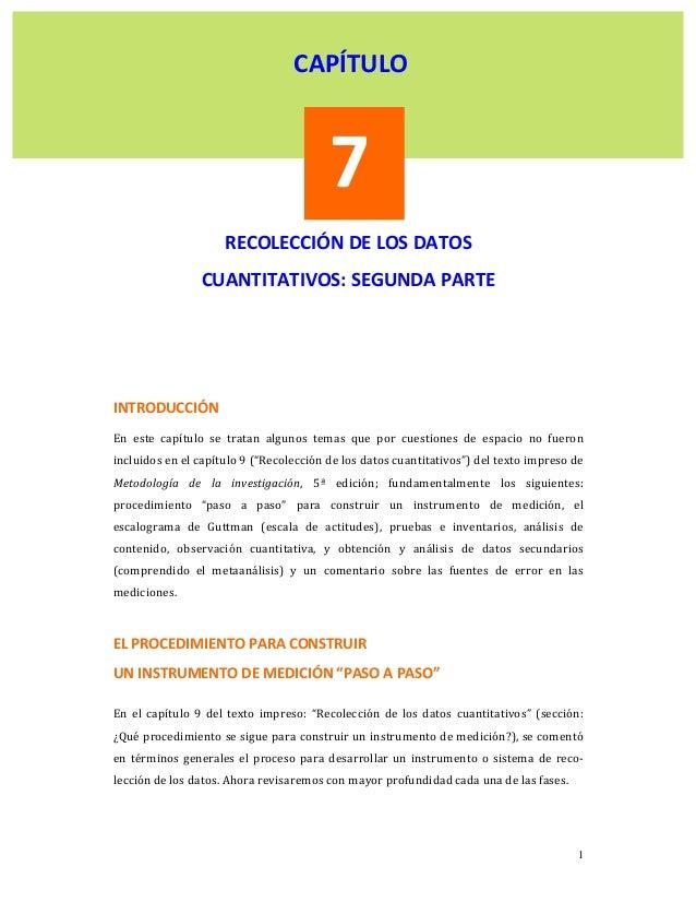 CAPÍTULO                                         7                       RECOLECCIÓNDELOSDATOS              ...