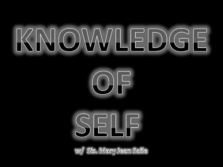 7 self knowledge