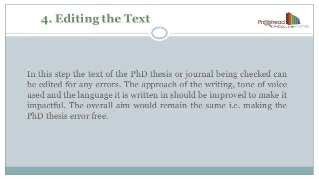 Phd in writing online