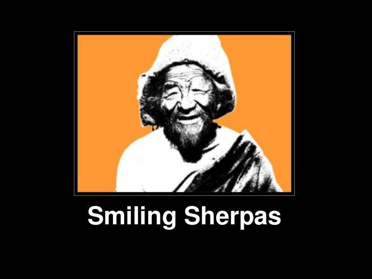 Smiling Sherpas