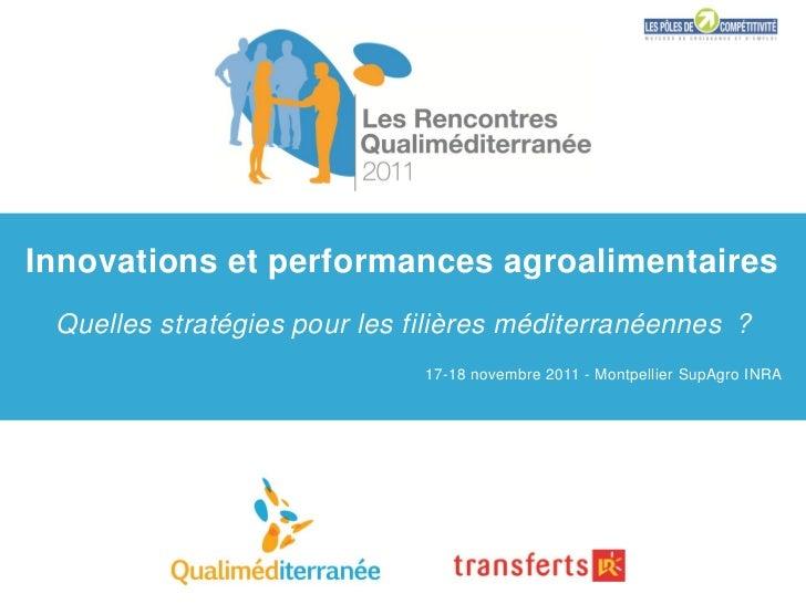 Innovations et performance