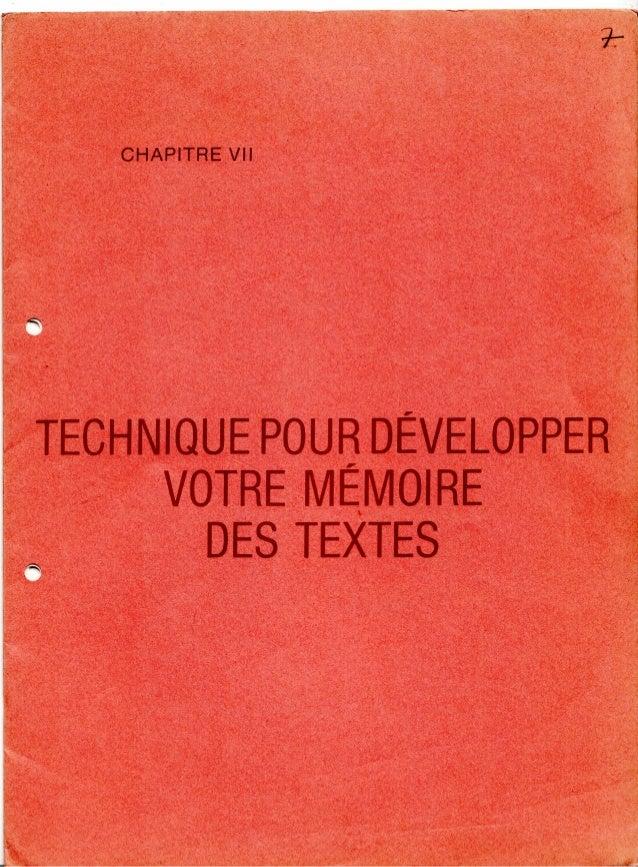 7 technique pour_developper_votre_memoire_des_textes