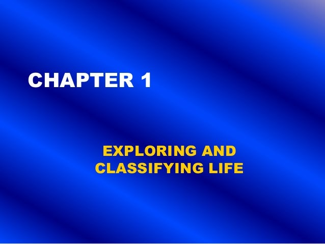 7th grade life science chapter 1 (revised)