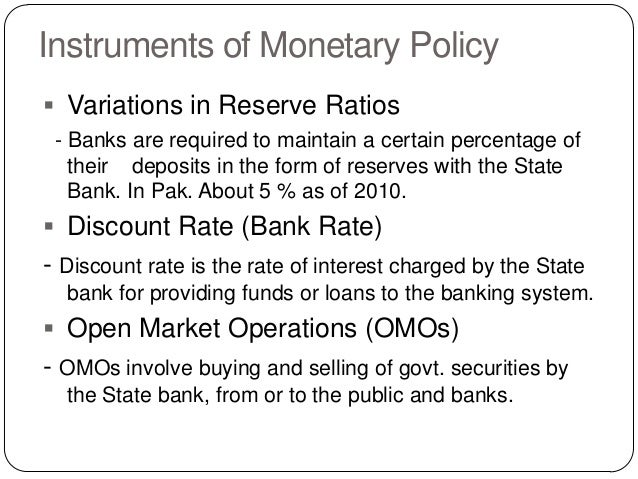 an analysis of the 1995 monetary policy Monetary theory islm and monetary policy policy makers (imf, us treasury) can use the islm model to determine what happens to interest rates and output when they increase/decrease the money supply.