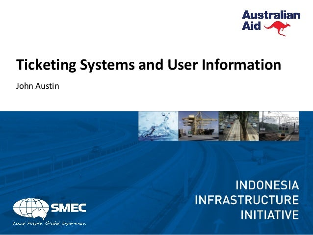 Ticketing Systems and User Information John Austin