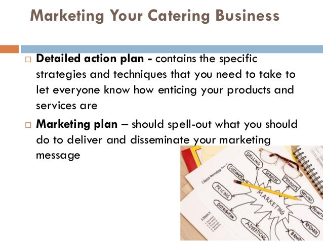 Business plan for catering business