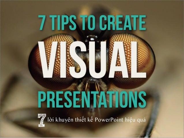 7   lời khuyên thiết kế PowerPoint hiệu quả