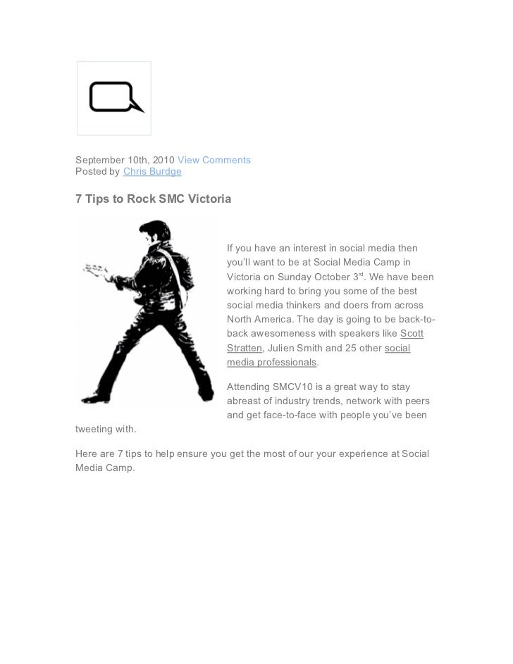 7 tips to rock smc victoria