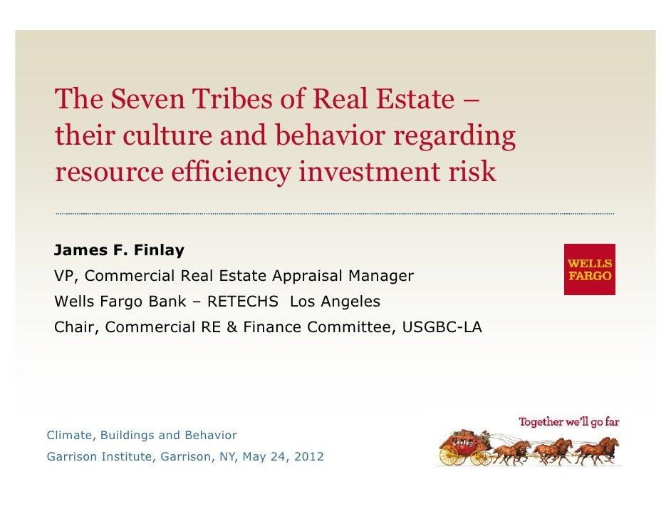 7 Tribes Of Real Estate Investmt Risk Behavior   Garr Inst Cbb  05 24 2012 Finlay5