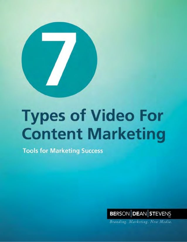 You've made the decision to use video to acquire new customers and connect with existing customers. So what type of videos...