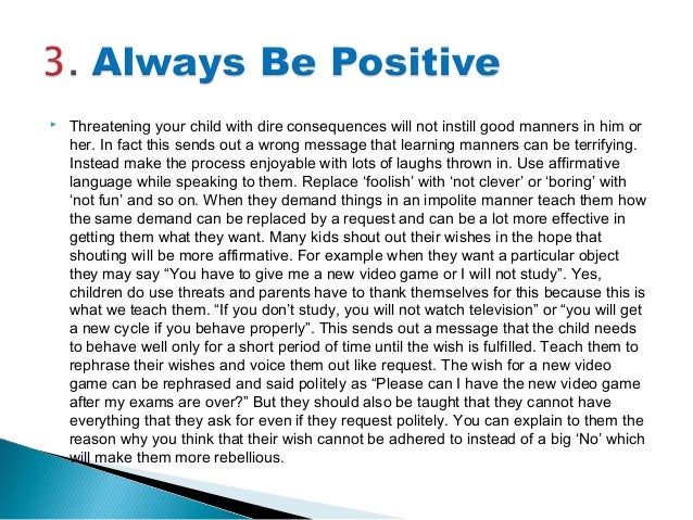 childrens essay on good habits