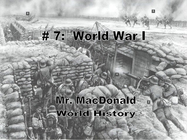 # 7 World War I