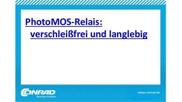 PhotoMOS-Relais: verschleißfrei und langlebig