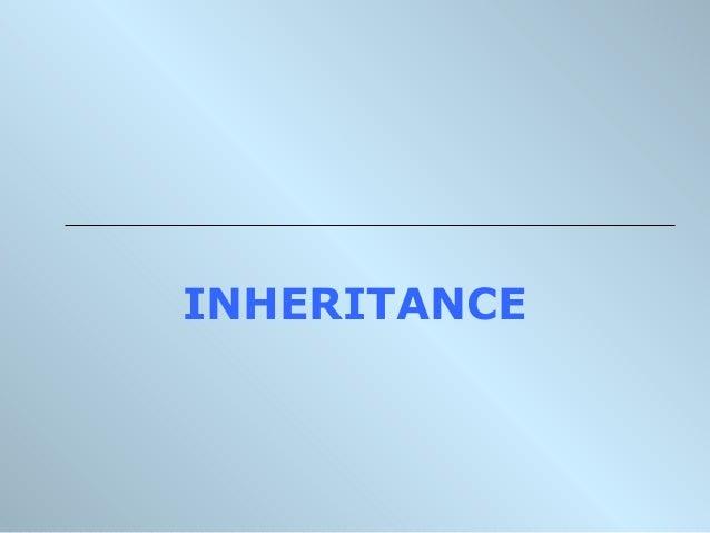 Inheritance & Polymorphism - 1