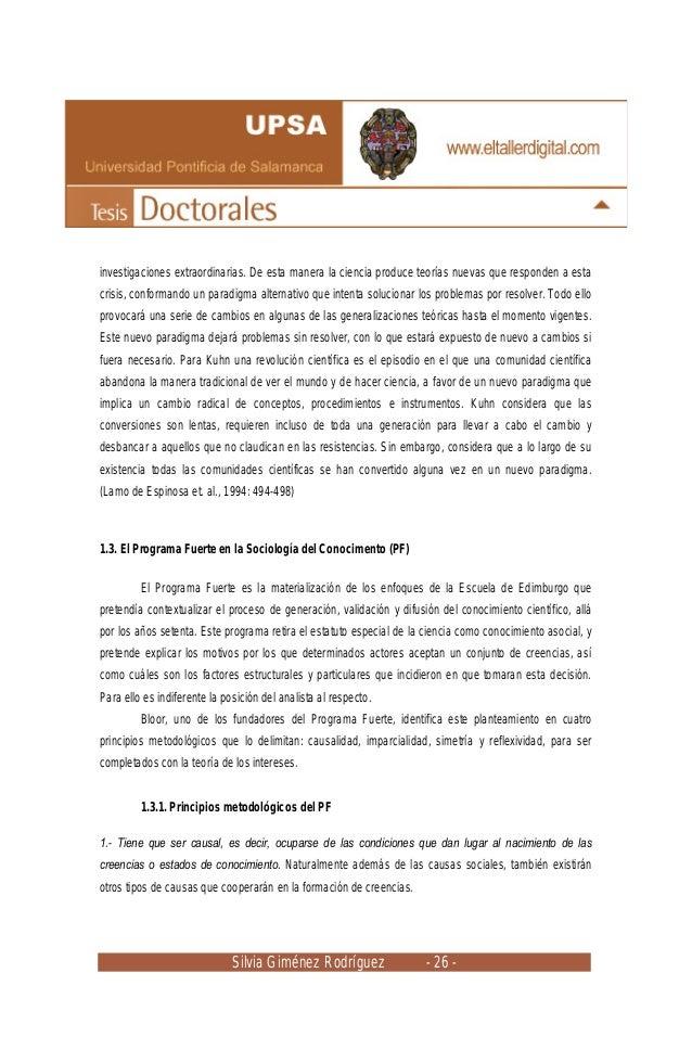 Silvia Giménez Rodríguez - 26 - investigaciones extraordinarias. De esta manera la ciencia produce teorías nuevas que resp...