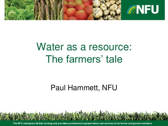The NFU champions British farming and provides professional representation and services to its farmer and grower members W...