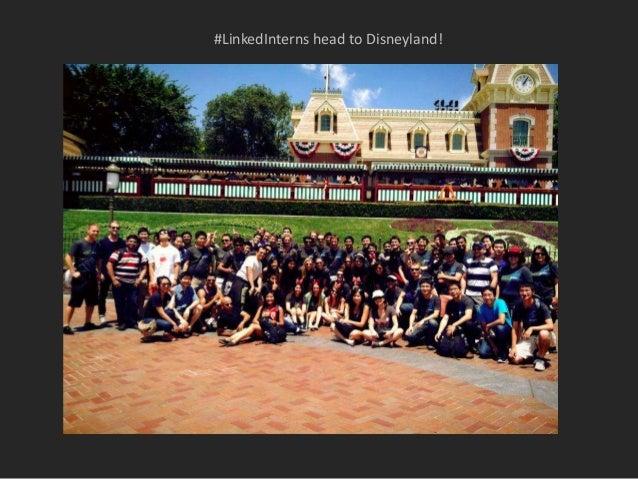 #LinkedInterns head to Disneyland!