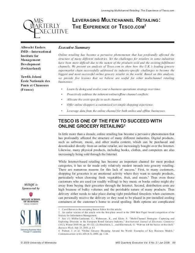 tesco case study international business Case study of tesco plc: future international expansion strategy the international market of brazil for tesco harvard business review, case study.