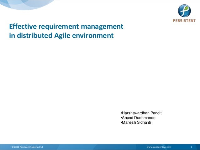 ATC2013-Harshawardhan- Effective requirement management-in_distributed_agile