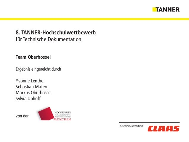 Team Oberbossel Ergebnis eingereicht durch Yvonne Lenthe Sebastian Matern Markus Oberbossel Sylvia Uphoff von der In Zusam...
