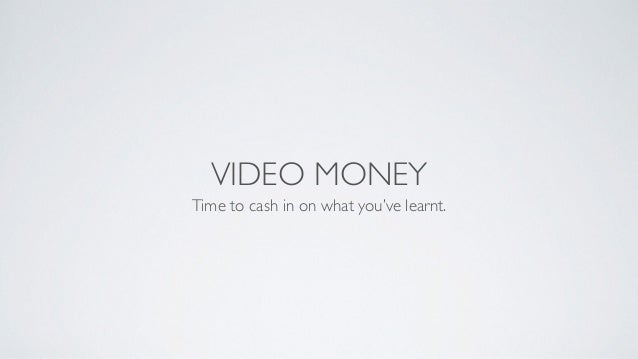 How To Earn Money Using Web Videos