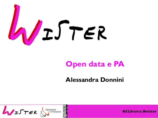 #d2droma #wister Foto di relax design, Flickr Open data e PA Alessandra Donnini