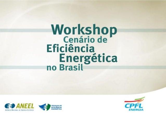 Programa de Eficiência Energética Julho 2014