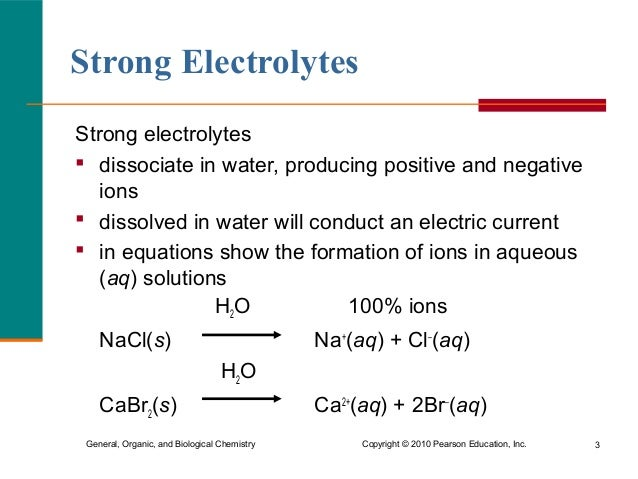 Post Lab: Electrolytes. Electrolytes Are substances that form ...