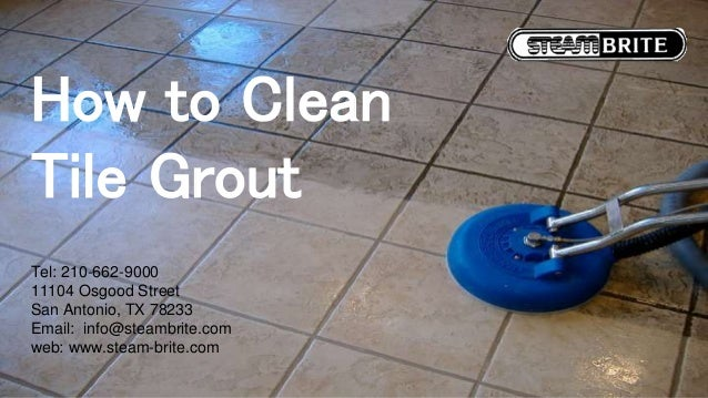 How to clean tile grout - Clean tile grout efficiently ...