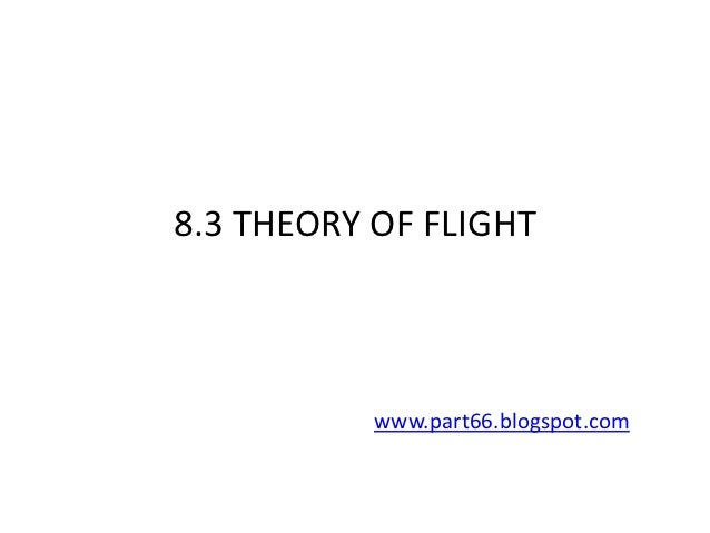 8.3 THEORY OF FLIGHT           www.part66.blogspot.com