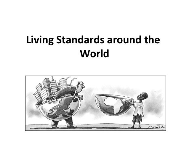 advertising and standard of living That sort of improvement in our standard of living is what the statistics do not fully capture there is one main downside to improvements in productivity.