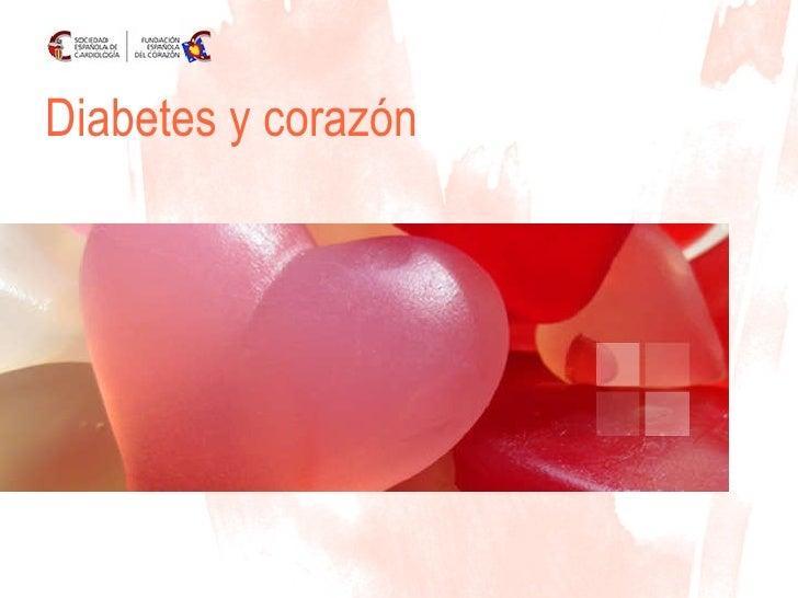 Diabetes y corazón