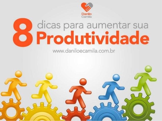 #Produtividade 1 Faça o que é necessário Muitas vezes temos projetos ou tarefas que nos motivam muito, e outras que nos mo...