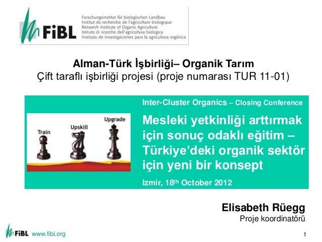 Alman-Türk İşbirliği– Organik Tarım