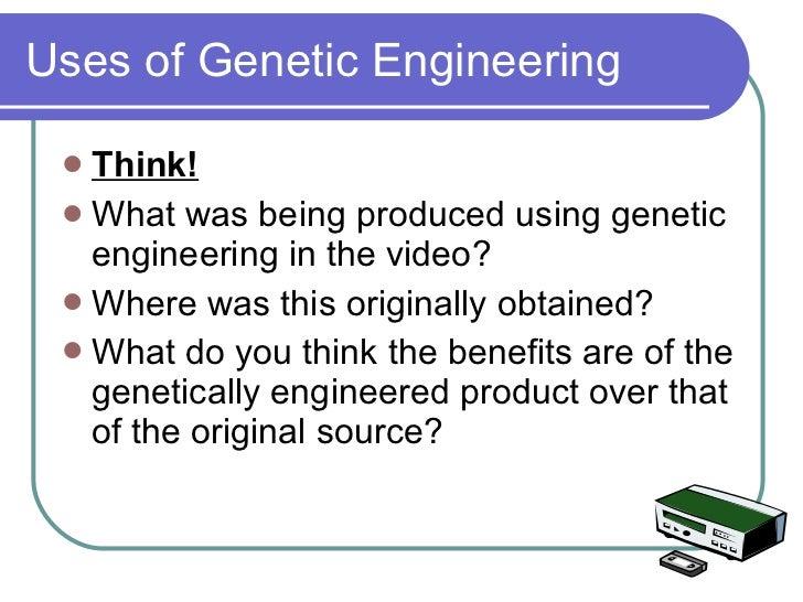 evolution and genetic engineering