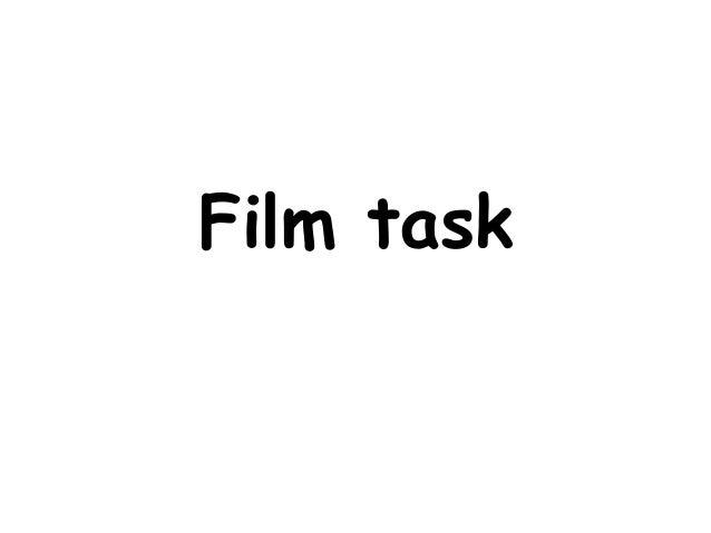 Film task