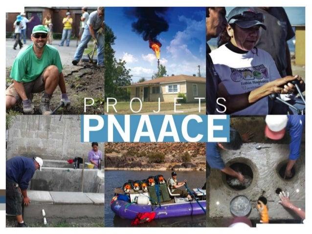 Réalisations obtenues grâce au programme de subventions du PNAACE