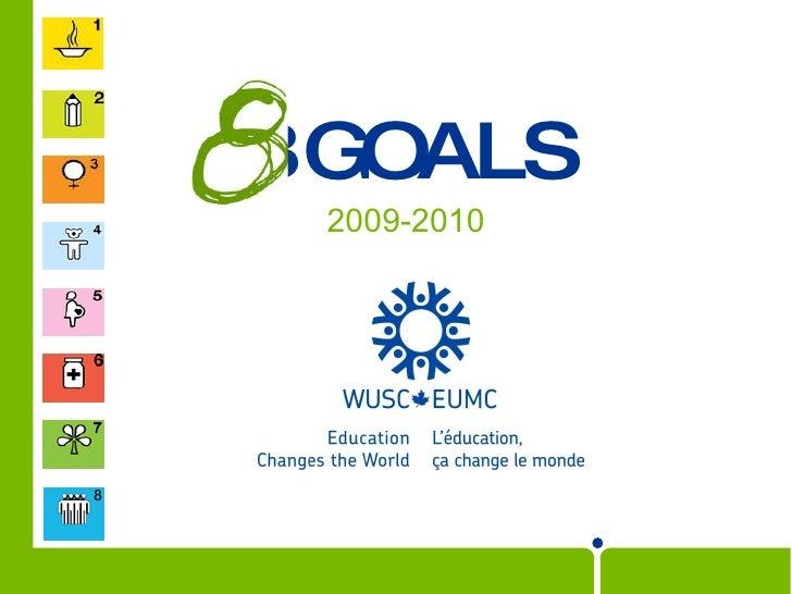 GOALS 2009-2010