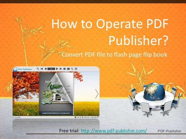 How to Operate PDF Publisher