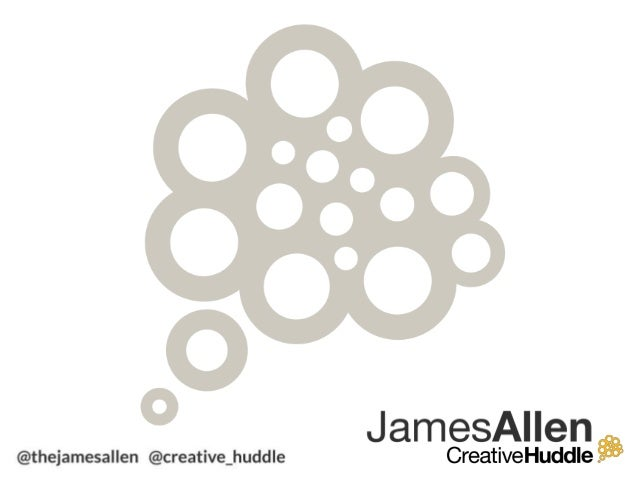 Summercamp 2013: Think differently with James Allen