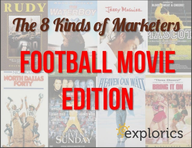 The 8 Kinds of Marketers: Classic Football Movie Edition