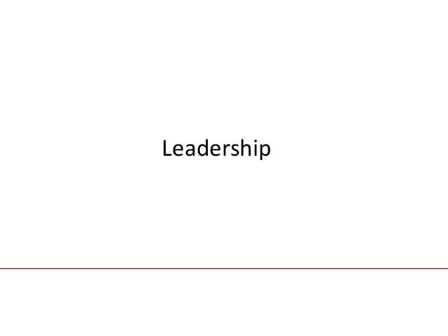 chapter fourteen                               LeadershipMcGraw-Hill/IrwinContemporary Management, 5/e                    ...