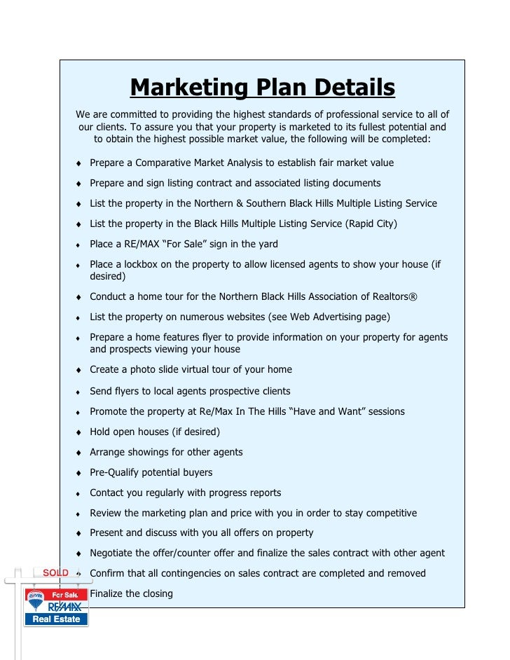 Marketing Plan Details We are committed to providing the highest standards of professional service to all of our clients. ...