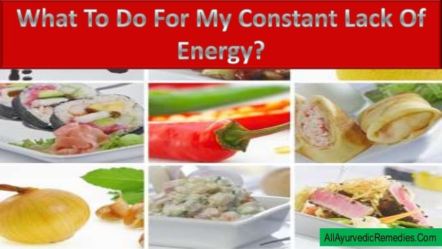 What To Do For My Constant Lack Of Energy?