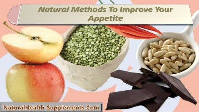 Natural Methods To Improve Your Appetite