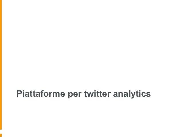12  piattaforme di twitter analytics