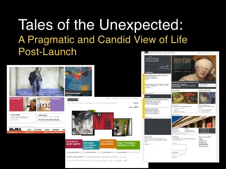 MW2010: A. Burnette, D. Mitroff Silvers + C. Sexton, Tales of the Unexpected: A Pragmatic and Candid View of Life Post-Launch