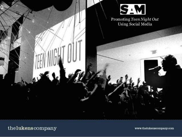 Social Media for Non Profits / April 28, 2014 Promoting Teen Night Out Using Social Media